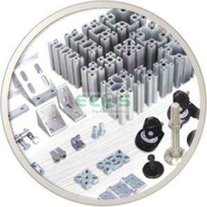 Acessórios para perfil de alumínio