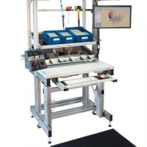 Bancadas de testes em perfil de alumínio