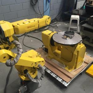 Célula robotizada de solda