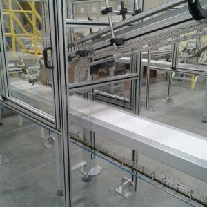 Perfil alumínio estrutural modular