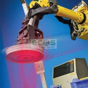 Sistema de visão para robô industrial